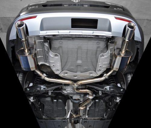 EXART ONE Muffler – VW GOLF ALLTRACK